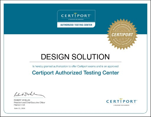 Design-Solution-Certiport-Professional-Certificate