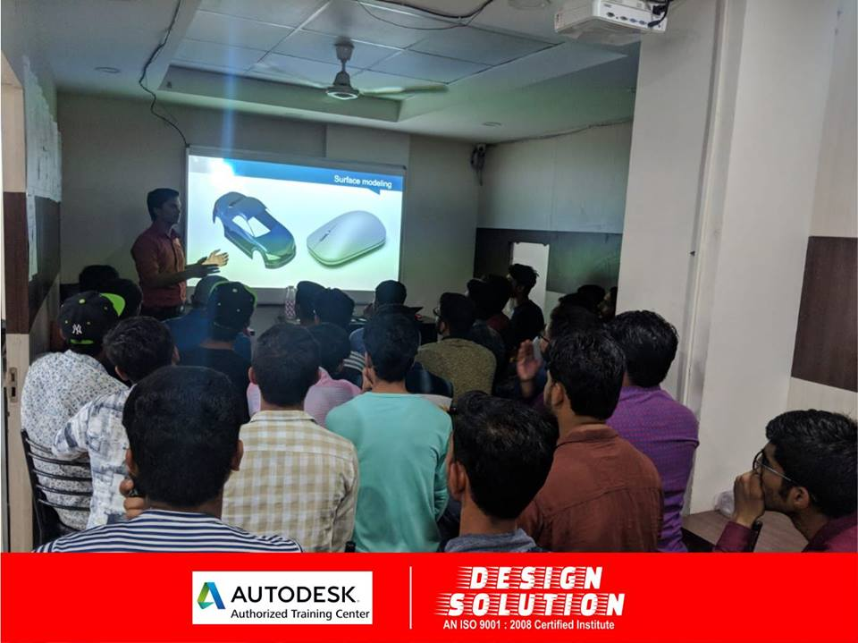 Catia Training Institute in Indore Classroom Programs